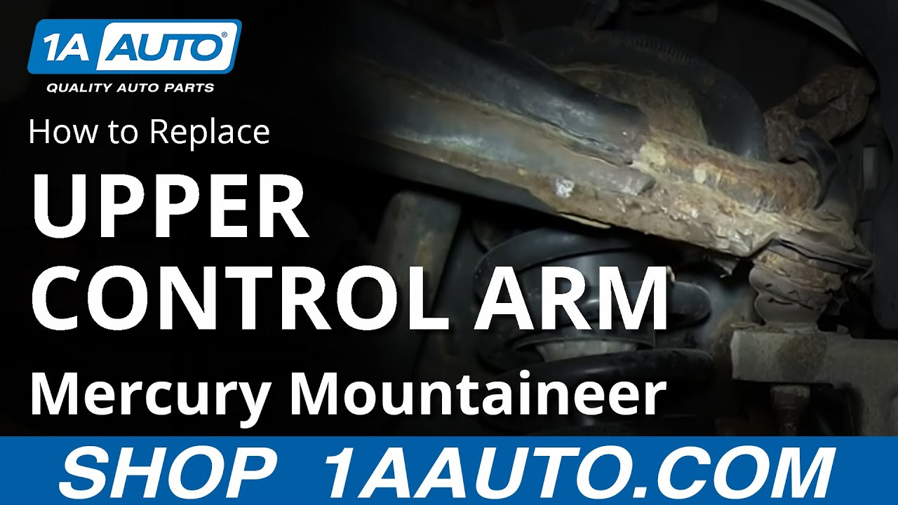 Rusted Out Upper Control Arm with a Stubborn Ball Joint Ford Explorer Mercury Mountaineer  YouTube
