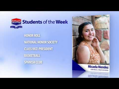 Students of the Week: Branden Welsh and Micaela Mendez of Greybull High School