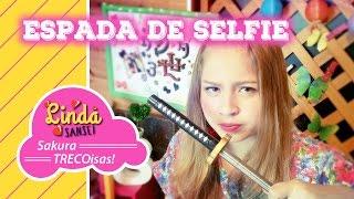 Hoje eu tenho pra mostrar pra vocês um bastão de selfie num estilo ...