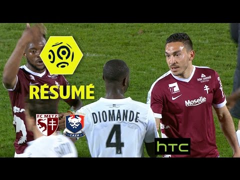 FC Metz - SM Caen (2-2)  - Résumé - (FCM - SMC) / 2016-17