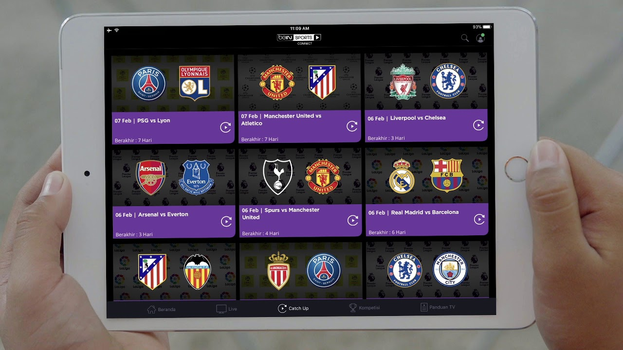 Tutorial Nexmedia Bein Sports Connect
