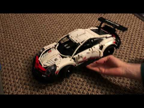 LEGO Porsche 911 RSR REVIEW and Final Touches! (TECHNIC 42096)