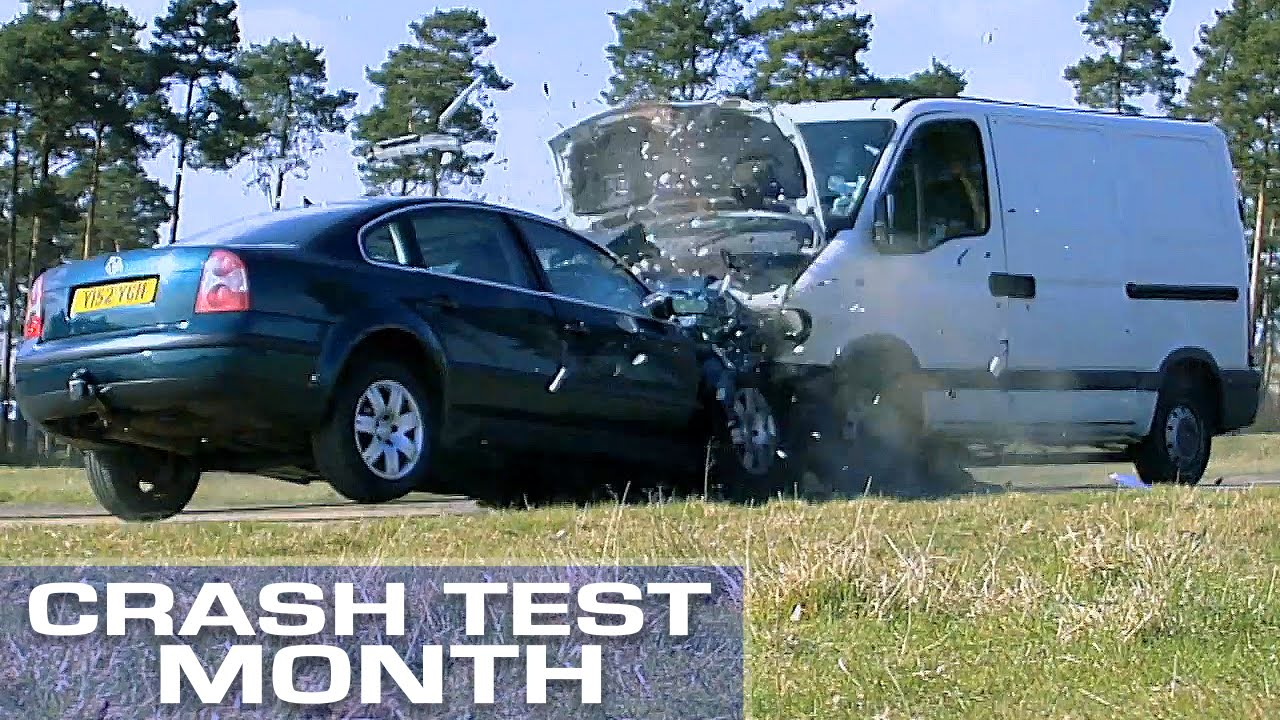 crash test month van vs car youtube. Black Bedroom Furniture Sets. Home Design Ideas