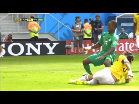 Colombia vs Ivory Coast Full Extended Highlights 2014 FIFA World Cup Brazil BBC
