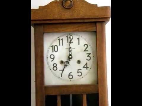 Cambio de maquinaria de un reloj de pared youtube - Relojes rusticos de pared ...