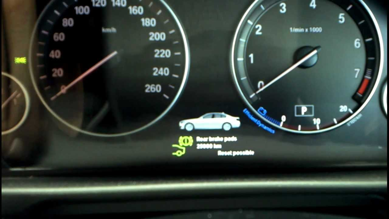 bmw 5 series f10 reset service light  u0026 runflat system how