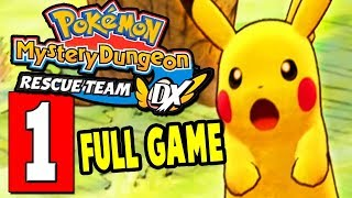 POKEMON Mystery Dungeon Rescue Team DX Gameplay Walkthrough Part 1 (FULL GAME) Nintendo Switch