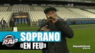 """Soprano """"En Feu"""" en live du Stade Orange Vélodrome pour Planète Rap !"""