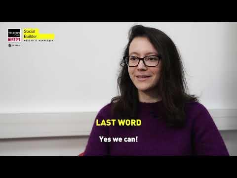 [#TélécomiennesInTech] Kamelia Daudel, PhD student (Eng subtiles)