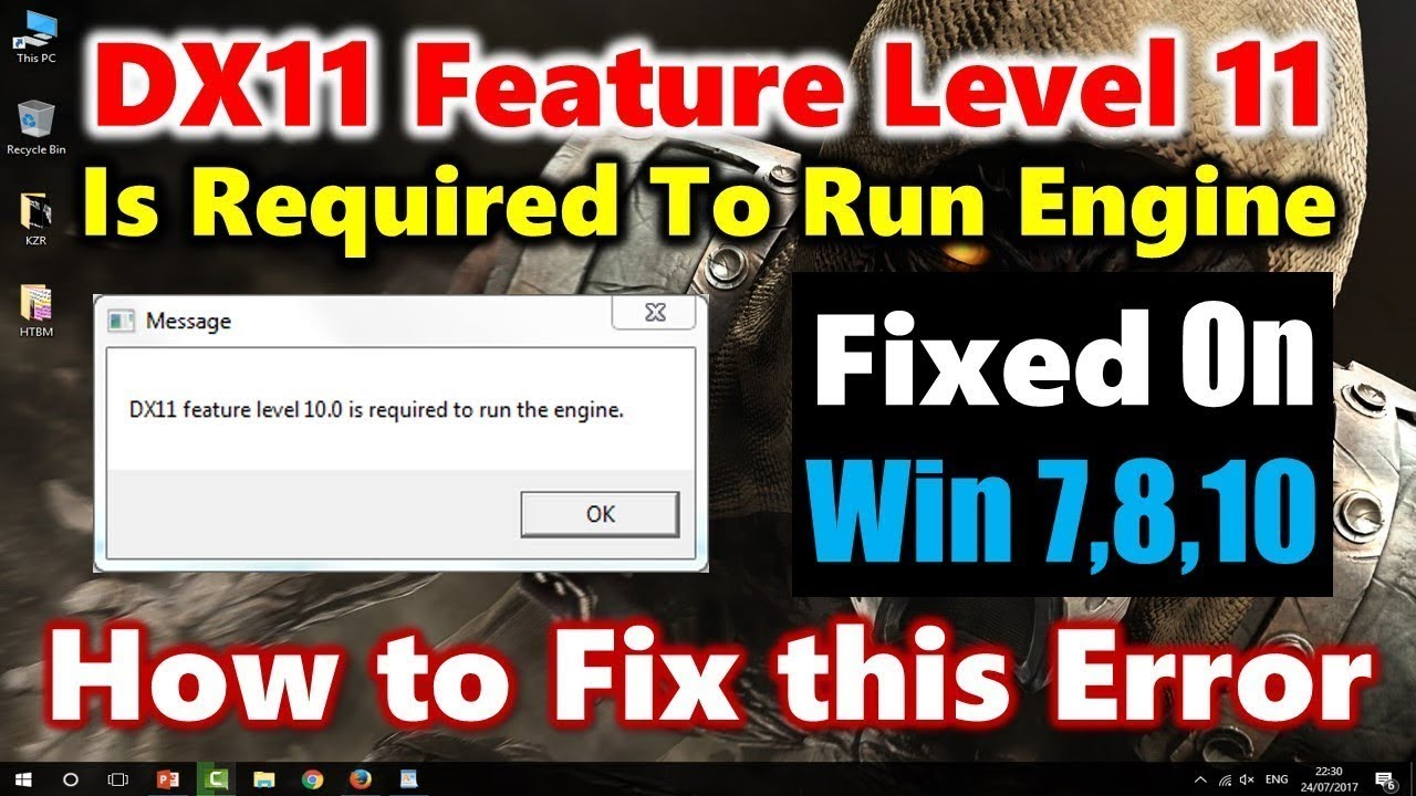 how to get dx11 feature level 10.0