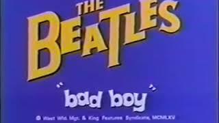 The Beatles cartoon (bad boy).