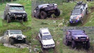Jeep Cherokee Vs Jeep Wrangler Vs Nissan Patrol Vs Mitsubishi Pajero Vs Isuzu D-Max
