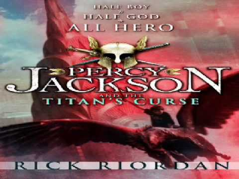Rick Riordan - Percy Jackson And The Titan's Curse (audiobook) - Puffin Books