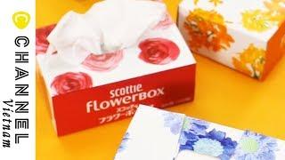 Hướng dẫn cách làm hộp đựng giấy ăn mini dễ thương