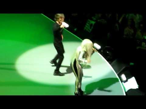 Rolling Stones Pru Center Dec 15 2012 Gimme Shelter w/ Lady Gaga