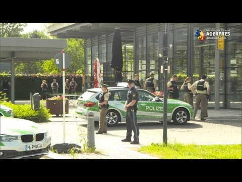 Incident armat la o gară din apropiere de Munchen, cel puțin patru răniți