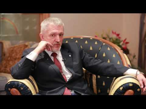 Interview with the Ambassador of Ukraine to Kuwait H.E. Volodymyr Tolkach ,2016
