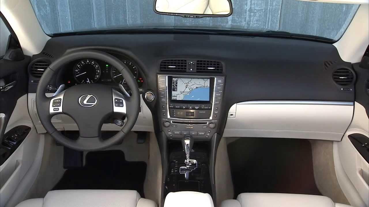 Lexus IS 250 C And IS 350 C Interior And Exterior   YouTube