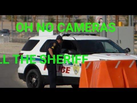 MARINE BASE 29Palms (military Police & Sheriff Come) W/Lonewolf CW, 1st Amendment Audit