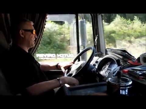 weekje vrachtwagen door europa
