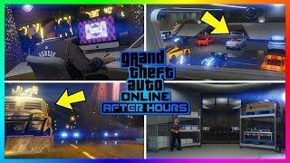 GTA Online After Hours DLC Update Official Trailer Breakdown - NEW Vehicles, Nightclubs & MORE!