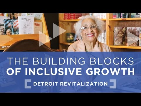 Toward Inclusive Growth In Detroit