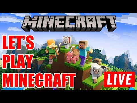 LET'S PLAY MINECRAFT | PLAYING WITH SUBS | MINECRAFT SURVIVAL MODE | HINDI LIVE STREAM