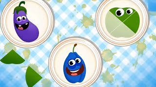 Baby Play And Learn Name Of Fruits Vegetables Colors- Educational Children Gameplay Video