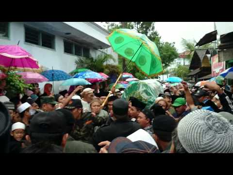 Pemakaman mbah Sahal Mahfudz
