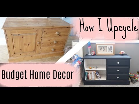 FURNISH YOUR HOME ON A BUDGET | HOW TO UPCYCLE FURNITURE | KERRY WHELPDALE