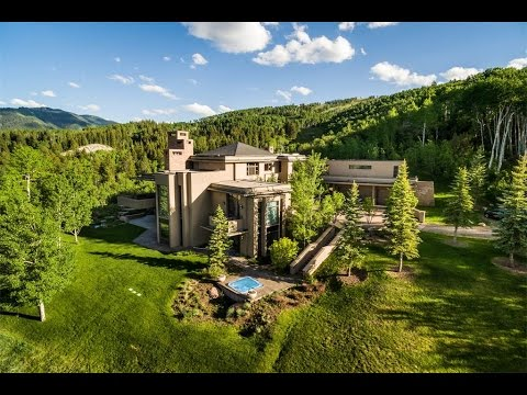 Custom contemporary home in aspen colorado youtube - What is a contemporary home ...