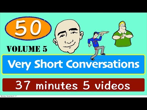 50 Very Short Conversations | Set 5 | English Speaking Practice | Learn The Basics