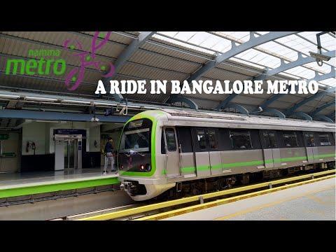 My First Metro Ride   Bangalore Metro   Namma Metro