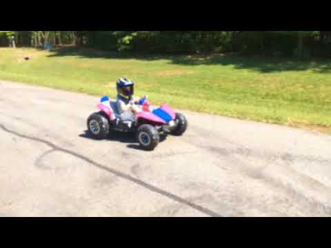 Power Wheel Chain Drive Test 1