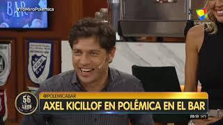 Axel Kicillof en Polémica en el Bar (18/07/19)