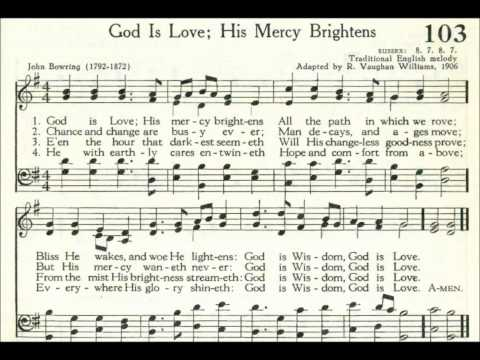 God Is Love; His Mercy Brightens (Sussex)