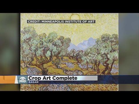 MIA Completes Van Gogh's 'Olive Trees' Recreation In Eagan