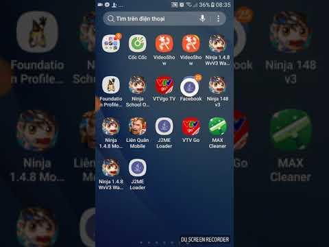 Hướng dẫn úp ninja và các game jar, jad trên android 24/24