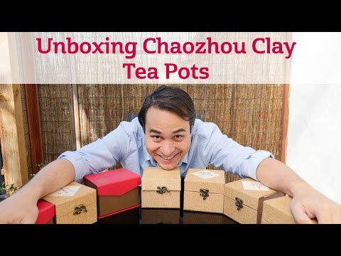 Unboxing Chaozhou Clay Tea Pots