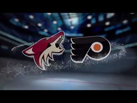 Arizona Coyotes vs Philadelphia Flyers - October 30, 2017 | Game Highlights | NHL 2017/18. Обзор