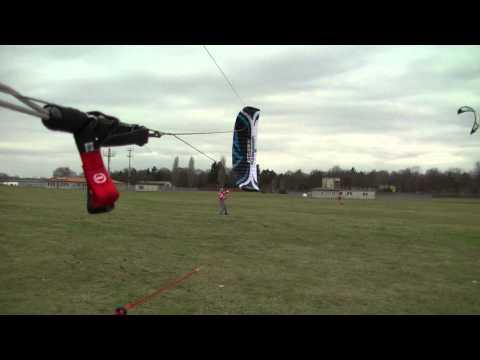 Kiting-Benny mixed Winter Flysurfer Speed 3/Speed 4 Dubstep 2012