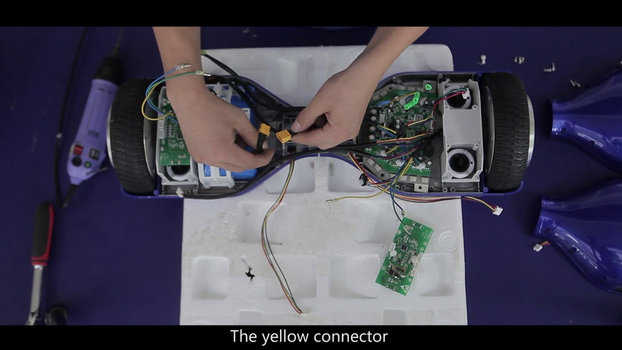Tutorial on How to Disemble the Hoverboard - YouTube on