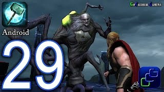 Thor: The Dark World - The Official Game Android Walkthrough - Part 29 -  Final BOSS, Ending