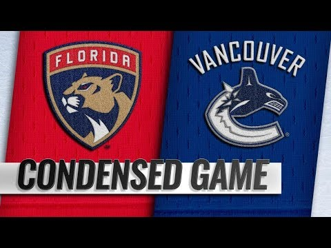 Florida Panthers vs Vancouver Canucks | Jan.13, 2019 | Game Highlights | NHL 2018/19 | Обзор матча