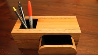 Bandsaw Box and Pen Holder