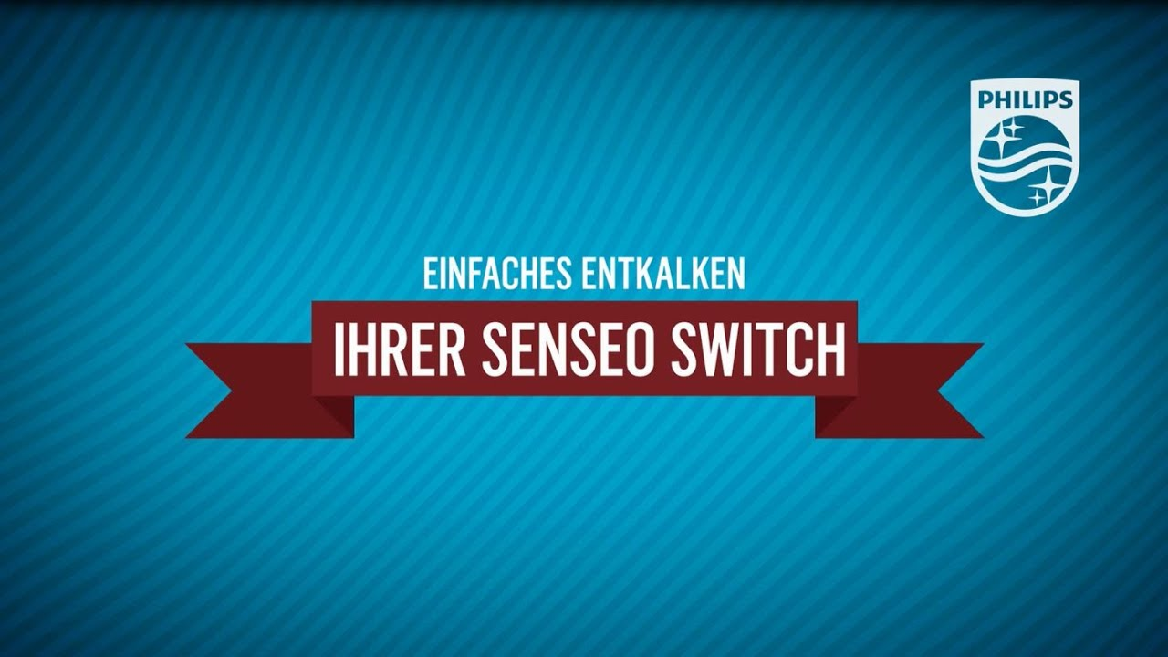 Senseo Switch 2in1 Kaffeemaschine, Entkalken  YouTube