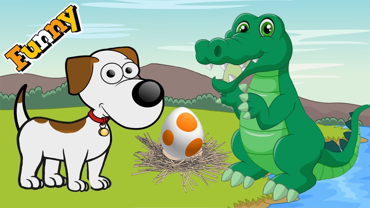 dogs cartoons for children funny animals cartoons for children