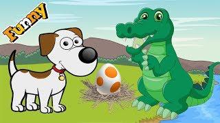 Dogs Cartoons for Children - Funny Animals Cartoons For Children 2017 - Beagledog and Crocodile