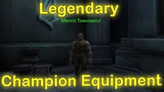 WoW Legion Champion Legendary Equipment Opening Reaction (World of Warcraft Legion)
