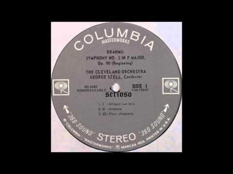 Brahms, Symphony No 3, 1,2,3mov, Szell